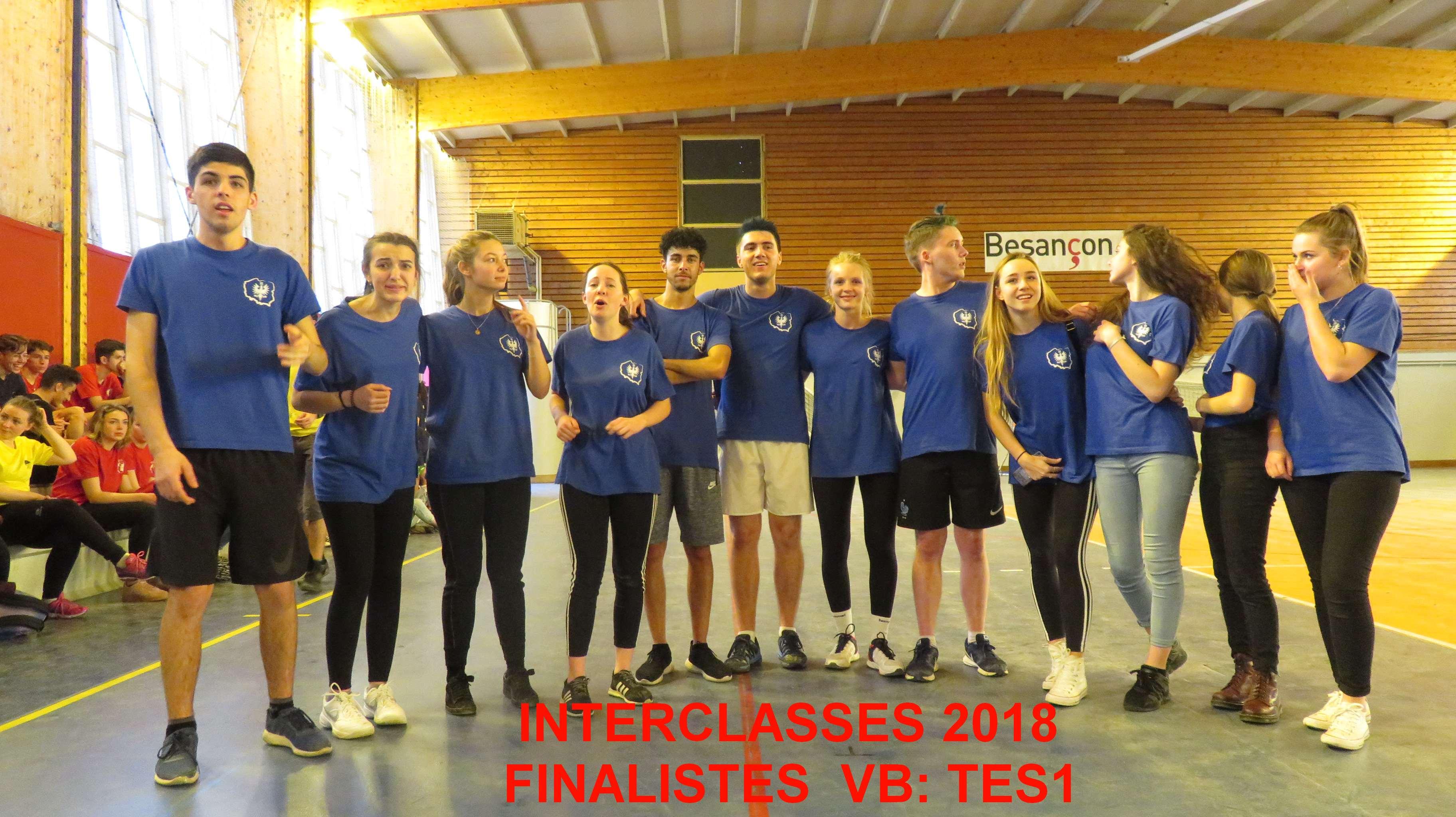 Finalistes VB TES1