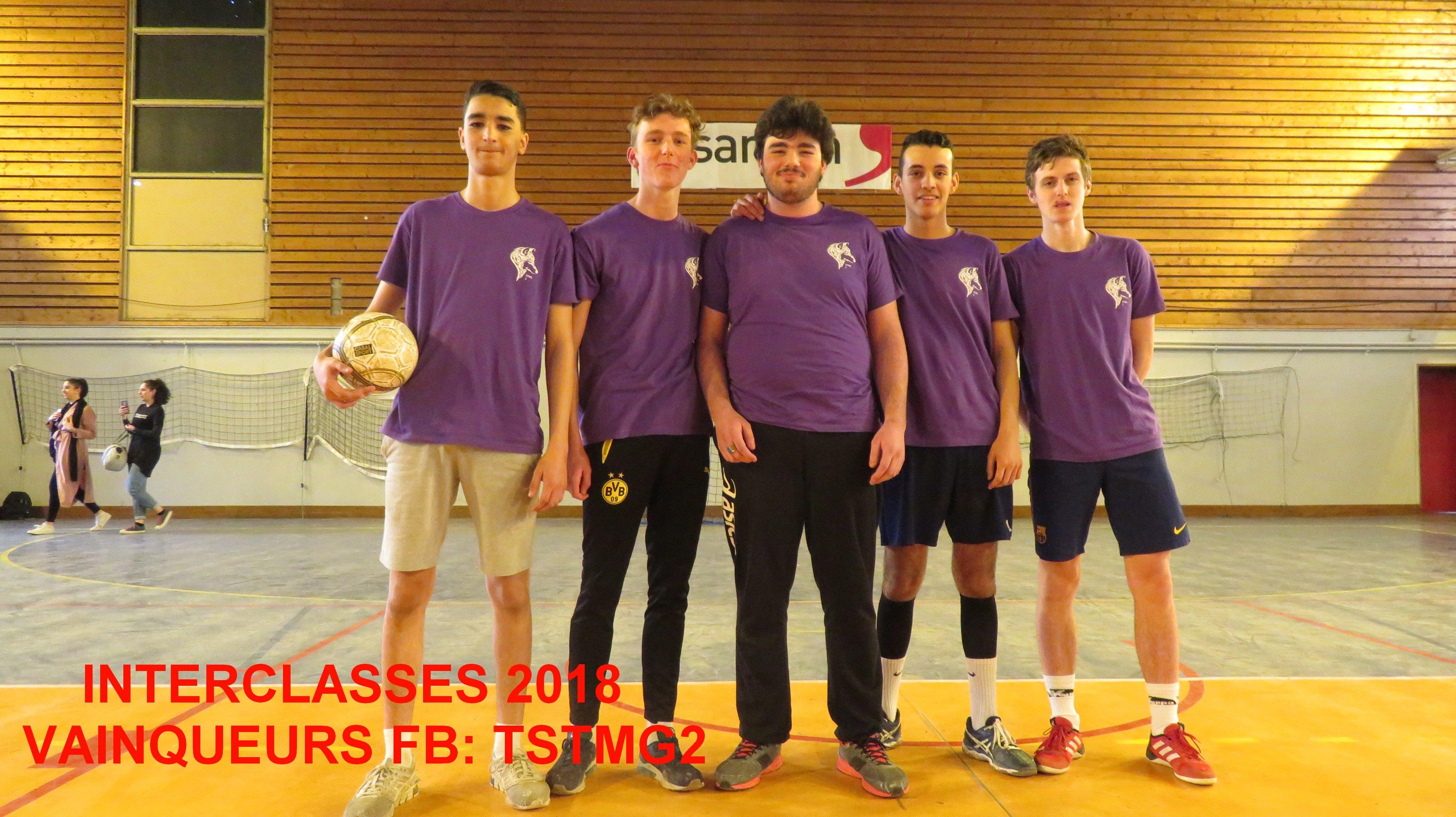 Vainqueurs FB TSTMG2