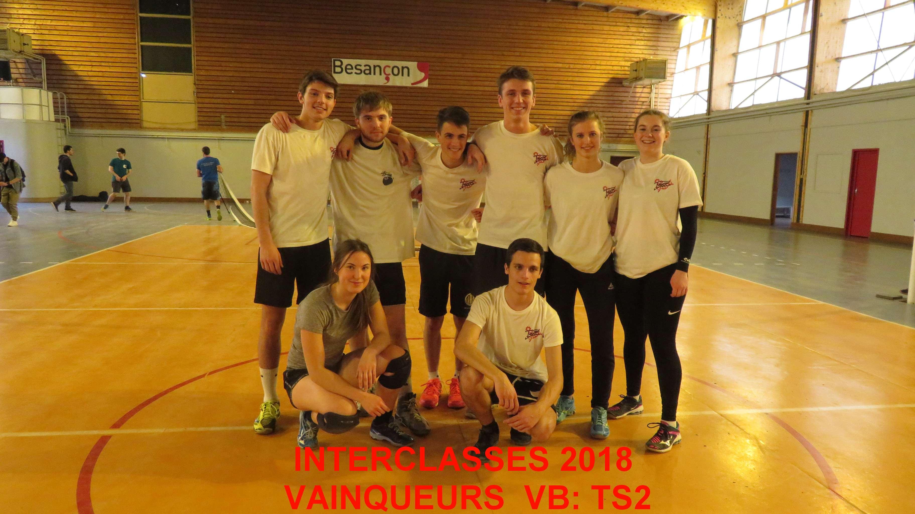 Vainqueurs VB TS2