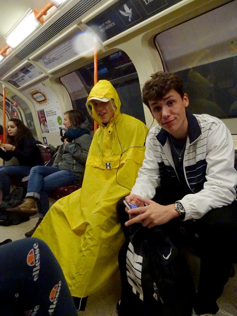 16. Glasgow subway