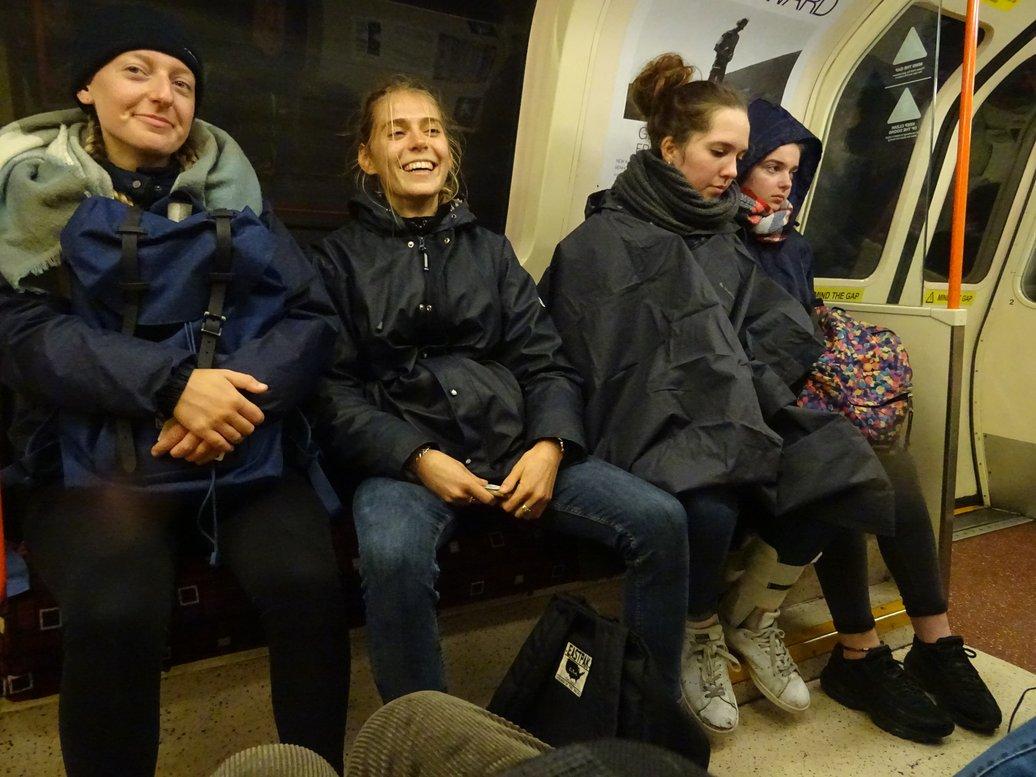 17. Glasgow subway